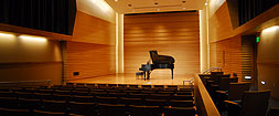 Barness Recital Hall Stage